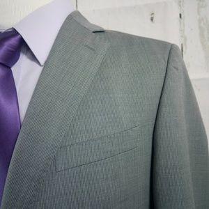 Banana Republic Modern Fit 40S Gray Suit Blazer Sp
